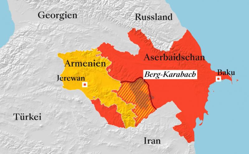 Der Krieg um Berg-Karabach