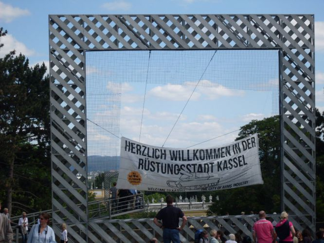 documenta protest